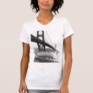 Bailarines de puente Golden Gate Poleras