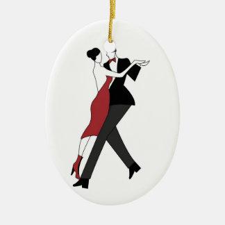 bailarines del tango adorno