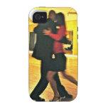 Bailarines del tango I iPhone 4 Fundas