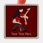 Bailarines del tango (modificados para requisitos  ornamento de navidad