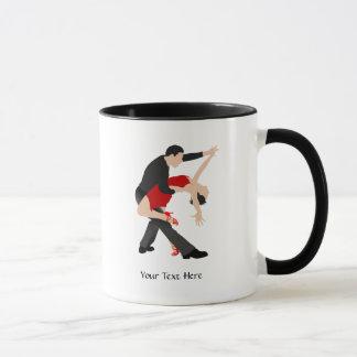 Bailarines del tango (modificados para requisitos taza
