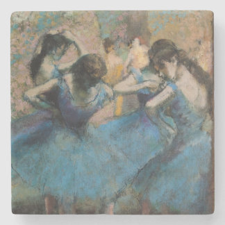 Bailarines en azul, 1890 2 posavasos de piedra