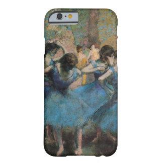 Bailarines en azul funda de iPhone 6 slim