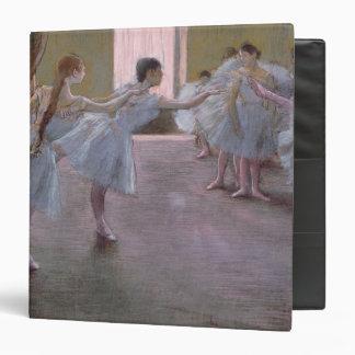 """Bailarines en el ensayo, 1875-1877 carpeta 1 1/2"""""""