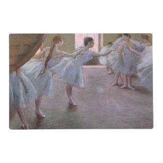 Bailarines en el ensayo, 1875-1877 tapete individual