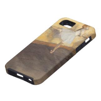 Bailarines en la barra de Edgar Degas, ballet del iPhone 5 Funda