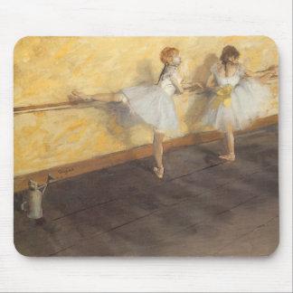 Bailarines en la barra de Edgar Degas, ballet del Tapetes De Raton