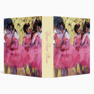 "Bailarines en rosa carpeta 1 1/2"""