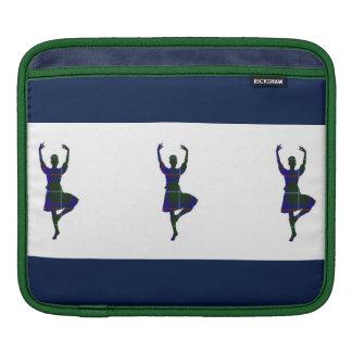 Bailarines escoceses de la montaña fundas para iPads
