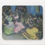 Bailarines gitanos españoles, 1898 tapete de ratones