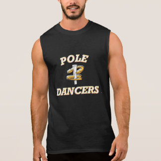 Bailarines sin mangas de Camiseta-Poste del Remera Sin Mangas