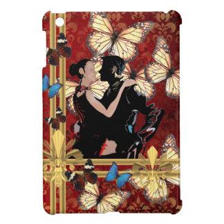 Bailarines y mariposas románticos