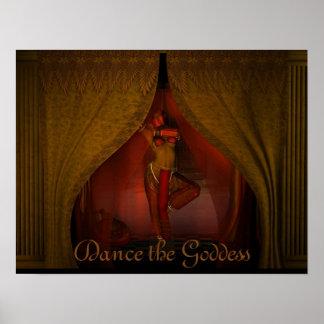 Baile a la diosa póster