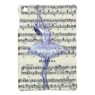 Baile a la música - casos del iPad del ballet mini