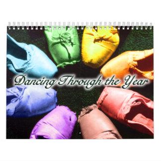 Baile a través del calendario del año 2015
