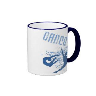 Baile (azul) la taza 2-Sided