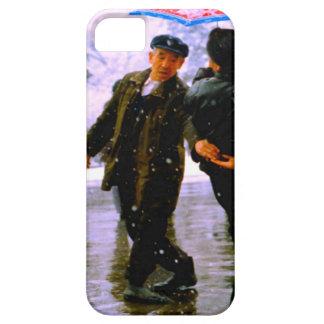 Baile chino en el hielo iPhone 5 cárcasa