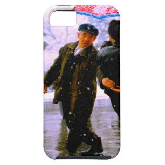 Baile chino en el hielo iPhone 5 protector