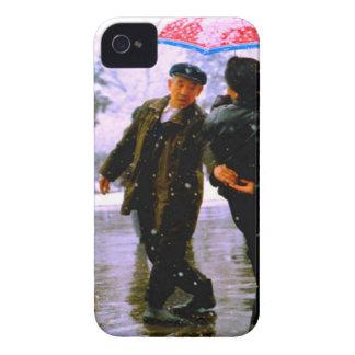 Baile chino en el hielo Case-Mate iPhone 4 coberturas