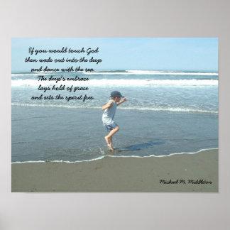 Baile con el mar posters