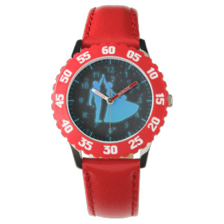 Baile con los relojes de los niños de las