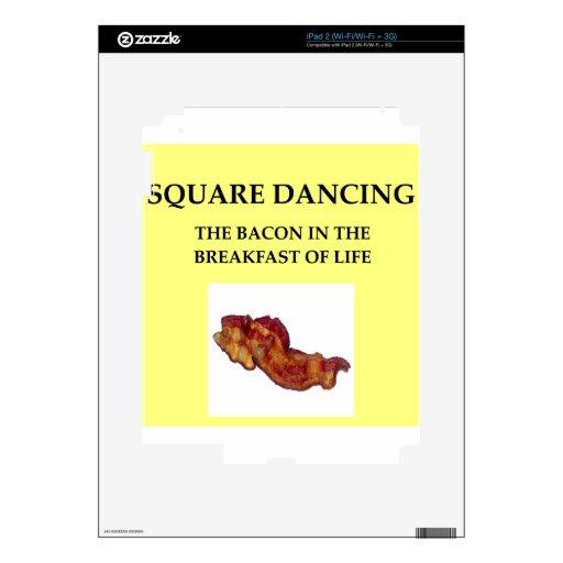 baile cuadrado calcomanía para iPad 2