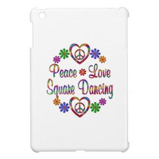 Baile cuadrado del amor colorido de la paz