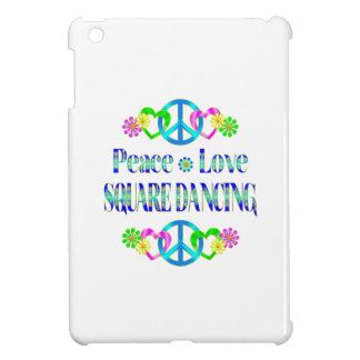 Baile cuadrado del amor de la paz
