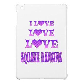 Baile cuadrado del amor del amor iPad mini cárcasas