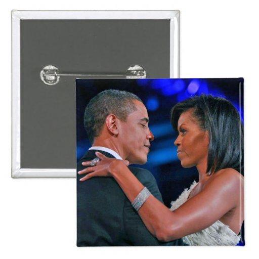 Baile de Barack y de Michelle Obama en el Bal Pin Cuadrado
