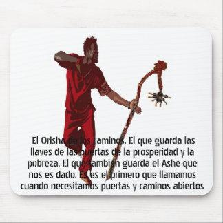 BAILE DE ELEGGUA DE LIZ LOZ MOUSEPAD