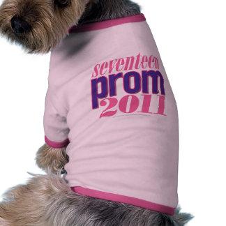 Baile de fin de curso 2011 - Púrpura Camiseta De Perrito