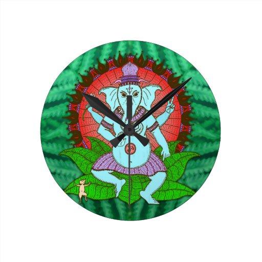 Baile de Ganesh de la paz Relojes