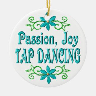 Baile de golpecito de la alegría de la pasión ornamento de navidad