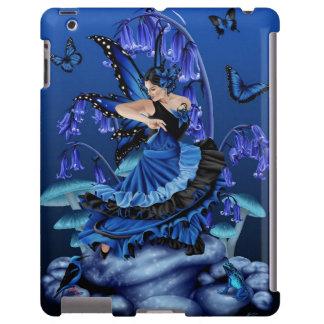 Baile de hadas azul - caso del iPad Funda Para iPad