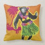 Baile de Hula del chimpancé Cojines