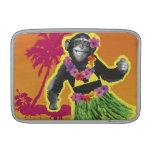 Baile de Hula del chimpancé Fundas MacBook