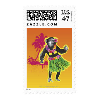 Baile de Hula del chimpancé Sello