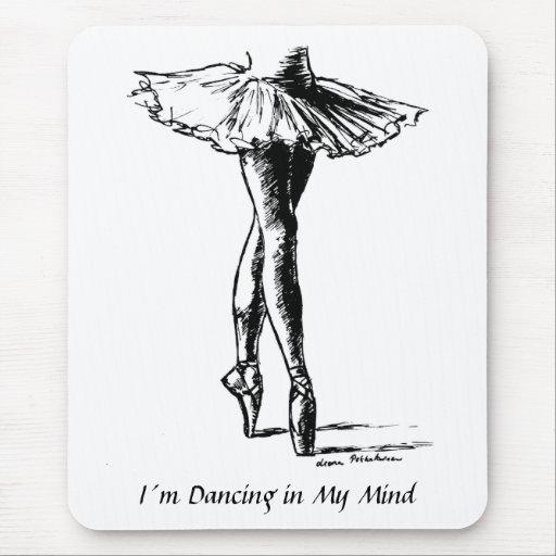 Baile de I´m en mi mente Alfombrillas De Raton
