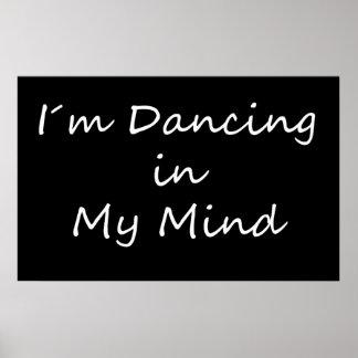 Baile de I´m en mi mente Póster