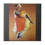 Baile de Jane Avril por Toulouse-Lautrec Azulejos