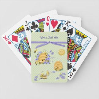Baile de la abeja baraja cartas de poker