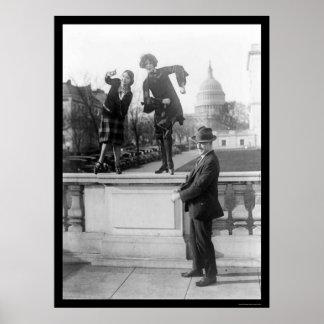 Baile de la Charleston en Washington, DC 1925 Impresiones