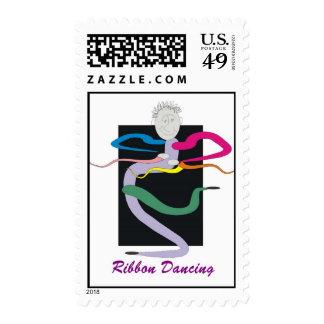 Baile de la cinta timbres postales