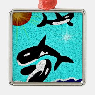 Baile de la orca para el collectionA de la vida Adorno De Navidad
