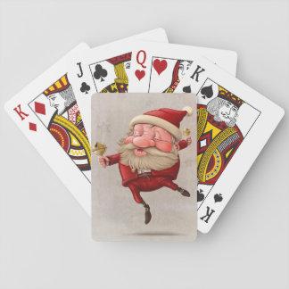 Baile de las campanas de navidad de Papá Noel Barajas De Cartas