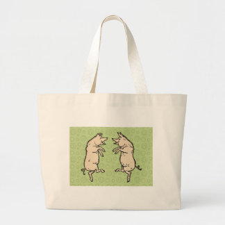 Baile de los cerdos del vintage bolsas de mano