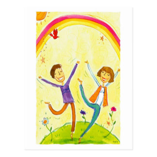 baile de los pares tarjetas postales