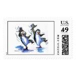 baile de los pingüinos franqueo