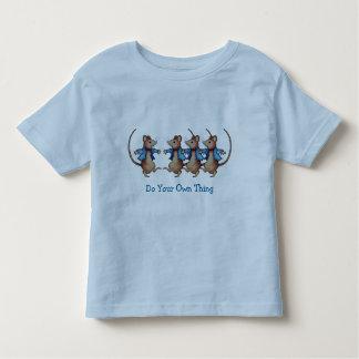 Baile de los ratones: Haga su propia cosa: Coloree T-shirts